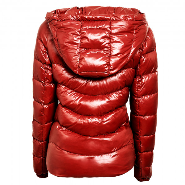"Down Jacket with Fur Hood ""IceRed"" We Love Furs"
