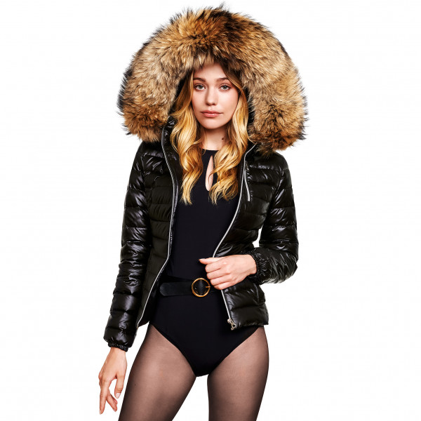 Ladies Wintercoat with Fur Hood