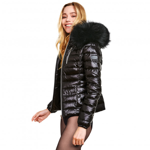 Down Jacket with XXL Hood
