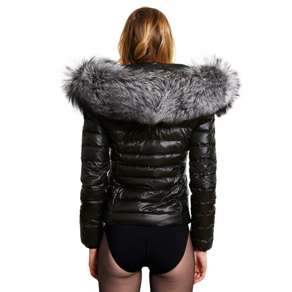Silverfox Ladies Down Jacket with Fur Hood
