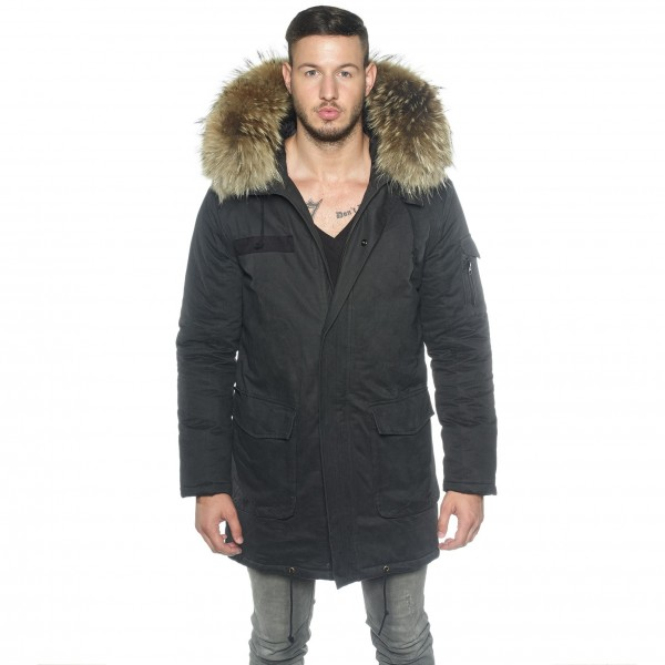 "Mens Real Fur Parka ""Capitano"""