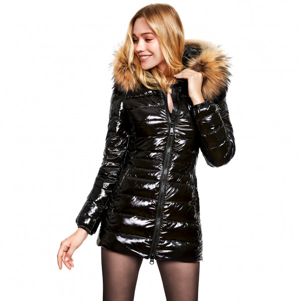 We Love Furs downcoat with Fur