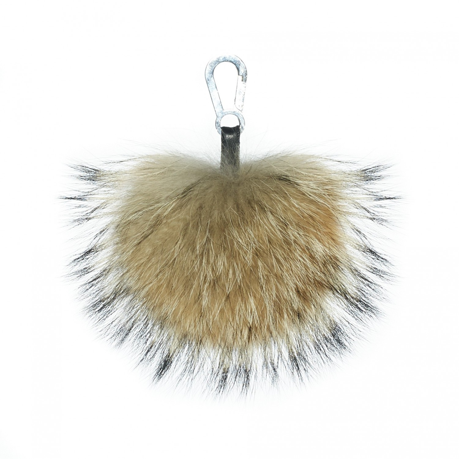 "XXL Fur Pompom ""GreenCollection"""