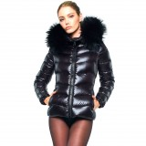 Winter jacket down coat Puffer Jacket with Fur Hood