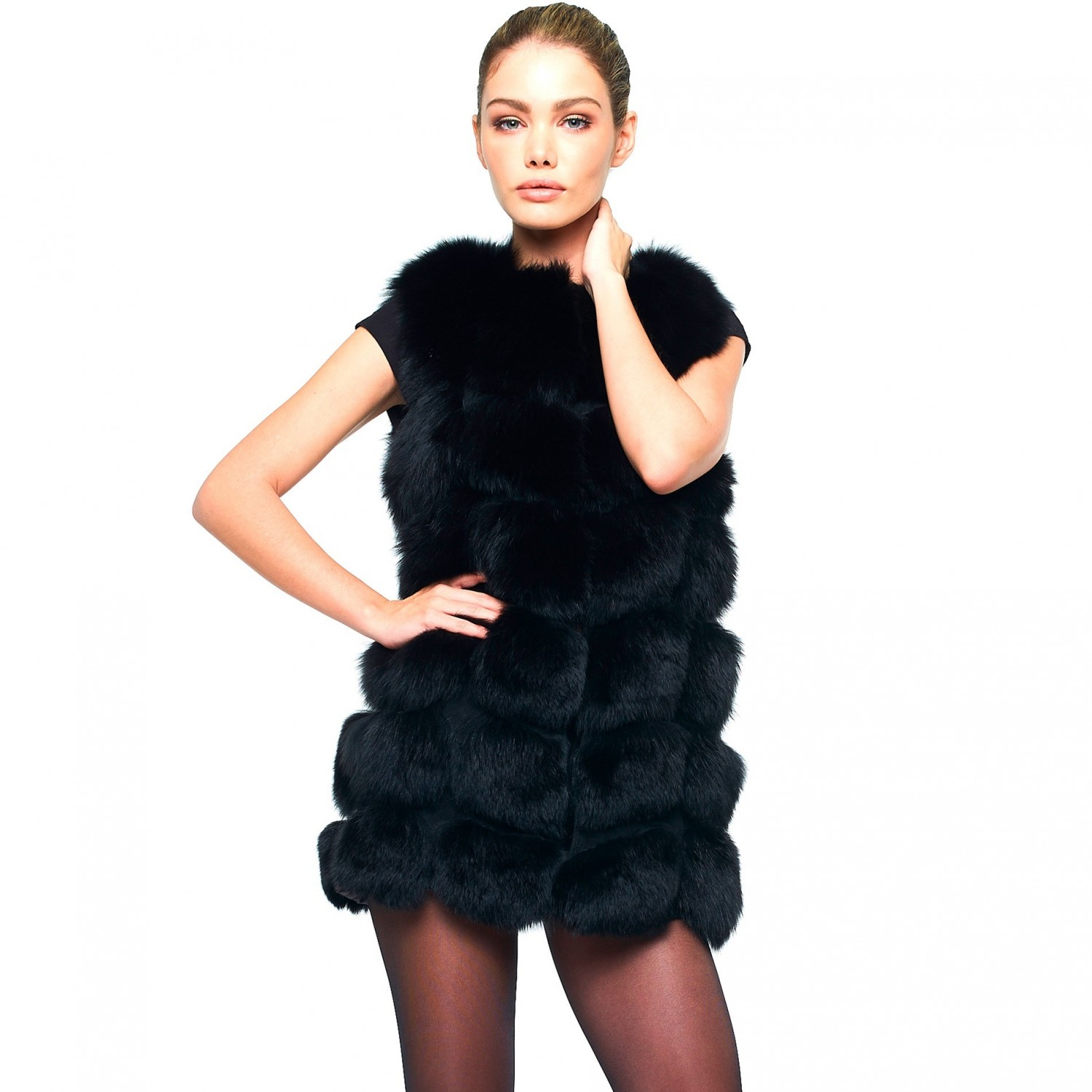 Fur vests - a symbol of elegance and femininity