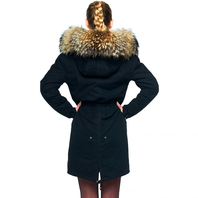 Fur Collar Coat 232