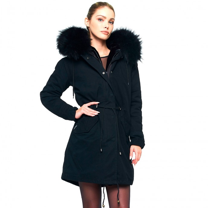 Fur Collar Coat 247