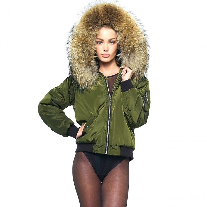 Bomberjacket with Fur 3
