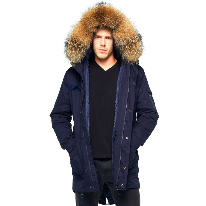 "half off 645dc 7e6c0 Herren Parka mit Fell ""Colonnello"""
