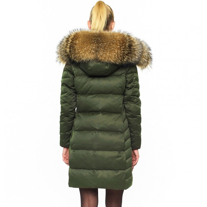 Armyjacket Wintercoat Fur Hood