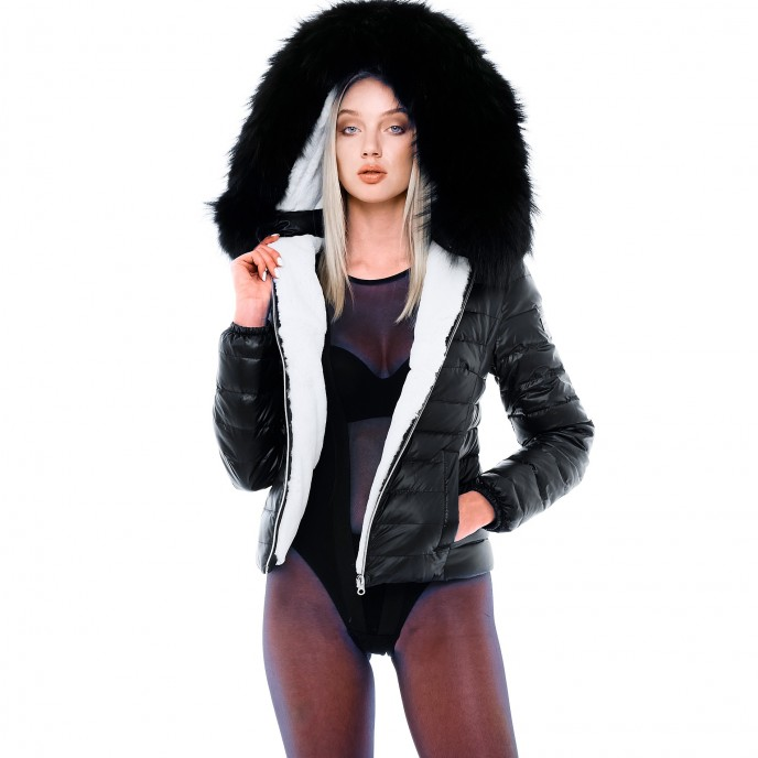 Down jacket woman We Love Furs