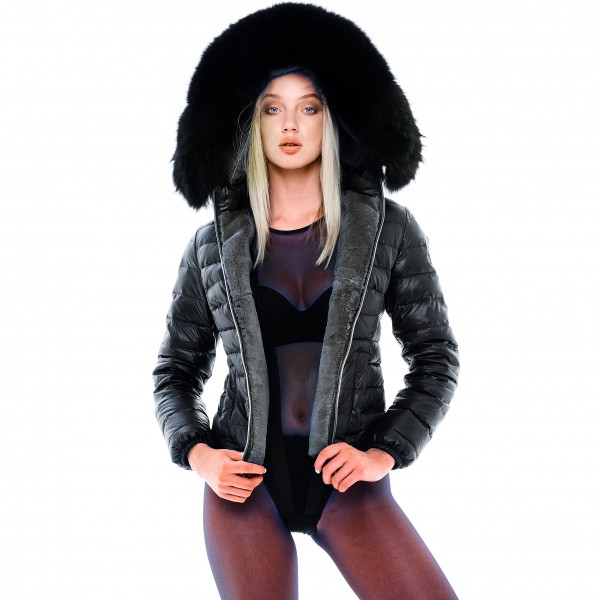 Furlined womans jacket