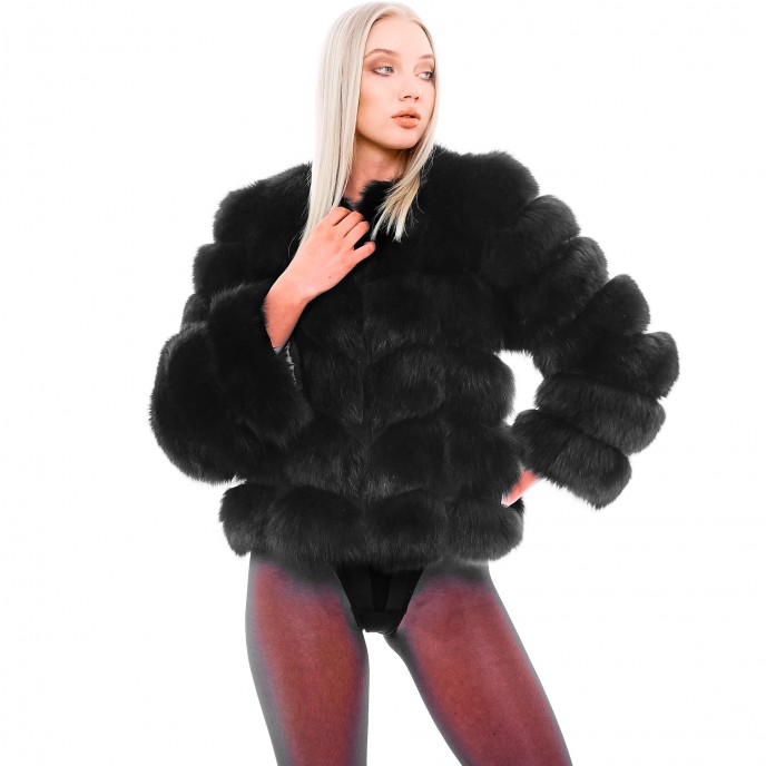 Short Fur Jacket Mini Vogue