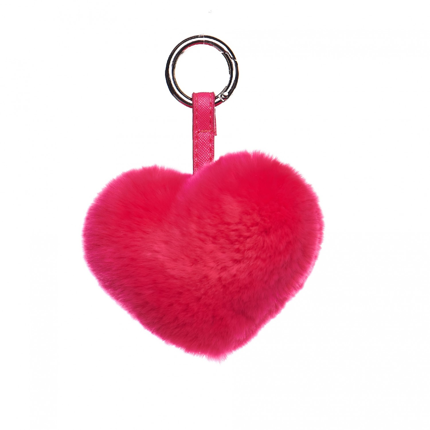 Keyring real fur