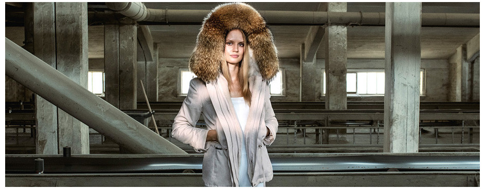 Fur Parkas with Fur Hood & Lining | WeLoveFurs