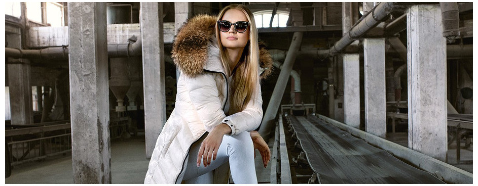 Down jackets with fur | WeLoveFurs